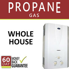 Tankless Hot Water Heater 3.1 GPM Marey Propane Gas On Demand 3 Bath Whole House