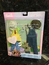 Barbie Happy Family grandma  & grandpa clothes Garden Overall Apron  Brand New