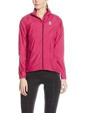Giacca da donna rosa per palestra, fitness, corsa e yoga