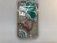 FOR IPHONE 5 CASE LUXURY BLING CRYSTAL DIAMOND 3D COVER -  butterfly