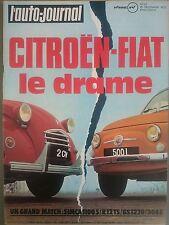 L'AUTO JOURNAL 1972 22 ESSAI MERCEDES 280 SE W116 BMW 507 CRITERIUM DES CEVENNES