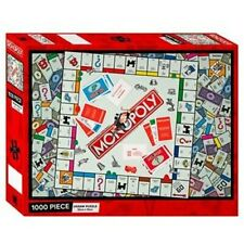 MONOPOLY GAME 1000 PIECE JIGSAW PUZZLE 50CM X 70CM FREE POST
