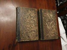 Traite Elementaire de Physique - E Peclet - 1847 Quatrieme Edition Volumes 1 & 2