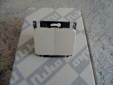 1 x interrupteur double allumage 7015 NIKO PR20 crème(état neuf)