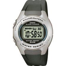 Casio W42H-1A Men's Sports Watch Resin Band Illuminator Alarm Stopwatch LCD NEW