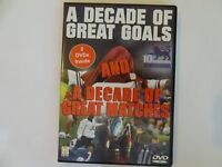 A Decade of Great Goals  A Decade of Great Matches - Soccer  DVD 2 Disc Set AC92