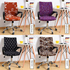 Office Chair Cover Protector Stretch Rotating Armchair Seat Slipcover 45-55cm