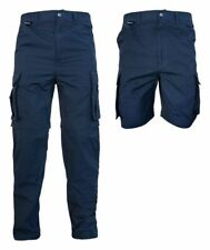 LION Utility Teflon Coated RipStop Zip Off Cargo Pants Shorts Police Fire EMS
