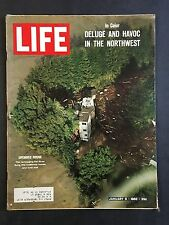 Life Magazine January 8 1965 Deluge and Havoc In The Northwest