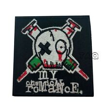 PUNK ROCK METAL MUSIC SEW/IRON ON PATCH:- MY CHEMICAL ROMANCE GERARD WAY