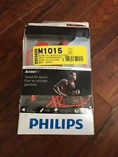 Philips ActionFit SHQ1200/28 Sports Headphones Red - **New Other