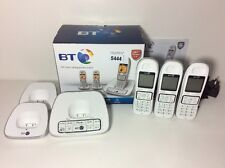 BT 7600 Trio White Cordless Dect Digital Phone with Answer Machine