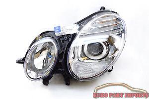 MERCEDES benz 07-09 E350 E550 Driver side Headlight Headlamp Genuine 2118203361