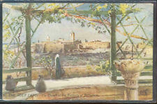 pc6617 postcard Holy Land Church of Nativity at Bethlehem Tuck's Oilette MOBSC