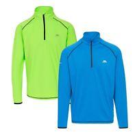Trespass Dougall Mens Active Lightweight Top Long Sleeve Gym Running Pullover