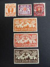 6 Number German & Colonies Postage Stamps