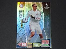 NEUER BAYERN MUNICH UEFA PANINI FOOTBALL CARD CHAMPIONS LEAGUE 2011 2012