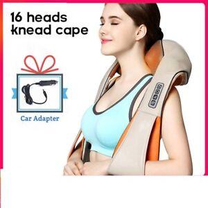 Shiatsu Back Neck Massager Muscle Relaxant Shoulder Body Massage U Machine Warm