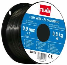 Bobina di filo animato 0.9 mm per saldatura flux senza gas 0.8 kg Telwin 802179