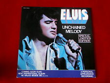 ELVIS PRESLEY~UNCHAINED MELODY~MINT~SOFTLY AS I LEAVE YOU~WHITE WAX~RARE~ ~ 45