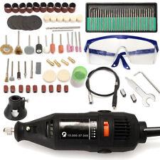 5 Variable Speed Electric Rotary Grinder Polishing Sanding Bits Tool Kit 114pcs