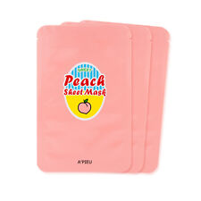 [A'PIEU] Peach & Yogurt Sheet Mask 23g*3ea