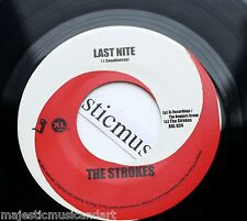 """THE STROKES FIRST RELEASE LAST NITE 7"""" VINYL USA 2001 MODERN AGE N.MINT"""