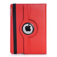 Custodia per Apple iPad Air in vari colori cuoio 360 gradi di rotazione COVER