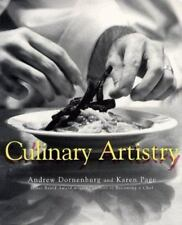 CULINARY ARTISTRY Book by Karen Page and Andrew Dornenburg (1996, Paperback)