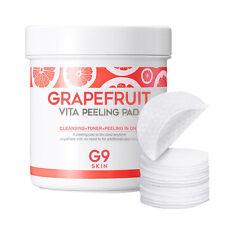 [G9SKIN] Grapefruit Vita Peeling Pad 200g 100ea / Brightening , Moisturizing