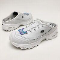 ✅❤️✅ @ Skechers Sport Women's D'Lites Slip-On Mule Sneaker 10 Eu40 Foam NWOB
