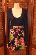 Sassy Darling Floral Mini Dolly DRESS Pleated Skirt T-Shirt Top DRESS Size XS