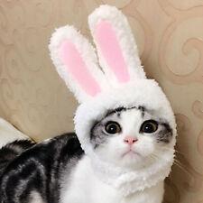 BL_ CW_ KQ_ Funny Cute Cat Dog Pet Costume Cosplay Rabbit Ear Headwear Hat Chris