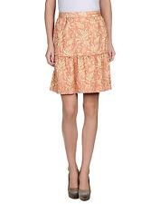 Dolce & Gabbana Pink/Gold Brocade Skirt Size : IT42/US6