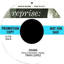 FEVER Trini Lopez  *HOT STROLLER*