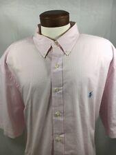 Men's RALPH LAUREN Blake Button Front Shirt size 3XLB SS