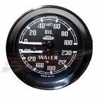 New Jaeger Dual Water Oil Gauge  MGA MGB 100% New Made in the UK Jaeger