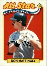 Cartes de baseball, saison 1989