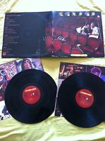 "KANSAS - TWO FOR THE SHOW - 2X LP 12"" G+/G+ SPANISH EDITION 1978 GATEFOLD INNER"