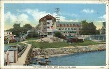 East Gloucester Ma Rockaway Hotel c1920s-30s Postcard