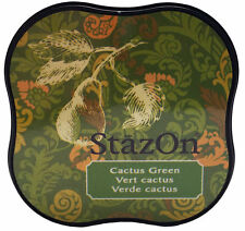 StazOn® Midi Solvent Ink Pad, Cactus Green NEW