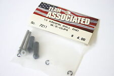 Team Associated T3 Kingpin Ball End With E-Clips - AS 7211