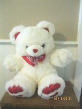 Teddy Bear with hearts on feet