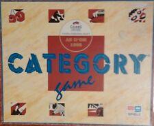 Jeu de société Category Game - As d'Or 1995 - Petit Bac - Scattergories