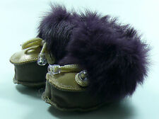 SHEEPSKIN  SLIPPERS/BOOTS FOR BABY 100% GENUINE  LEATHER UNISEX