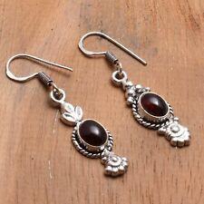 """Jewelry 1.48"""" Ae 83926 Rubellite Handmade Drop Dangle Earrings"""