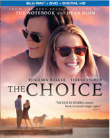 The Choice [New Blu-ray] With DVD, 2 Pack