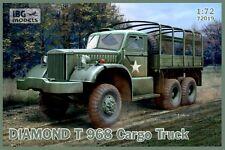 Diamond T 968/968 un camión de carga (WW II aliadas camión) 1/72 Ibg Nuevo