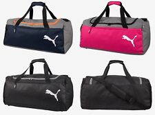 Puma Fendamentals Medium Duffel Bags Running Sports Black GYM Bag Sacks 07552801