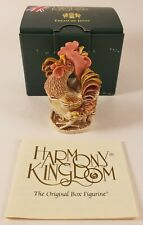 Harmony Kingdom-LORD 'S OF THE Roost - 2002 un tesoro affatto uno scherzo Ciondolo Box con scatola